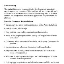 Job Description Dot Net Yrs Developer Post Sample Resume Archivist