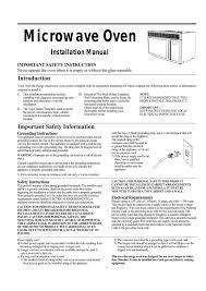 magic chef mco165uw installation guide manualzz com magic chef mco165uw installation guide microwave oven installation manual
