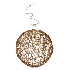 Light Ball Home Depot Northlight 10 In Warm White Led Lighted Wire Ball Christmas Ornament