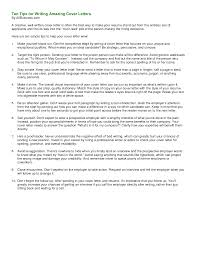 Amazing Resume Samples Ten Tips For Writing Amazing Cover Letters