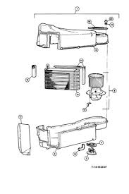 delorean motor company air conditioning unit 7 1 0 evaporator