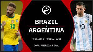 Brazil vs Argentina live stream ...