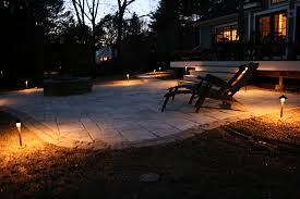 artistic outdoor lighting. low voltage accent lights around new outdoor living room artistic lighting r