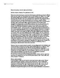 justice essay restorative justice essay