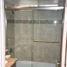 semi frameless sliding shower door bypass shower our semi sliding best semi frameless sliding shower doors