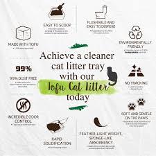 Cat Litter Comparison Chart Tofu Cat Litter