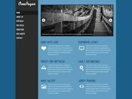 Download Free Html Template Onepager Free Html Templates