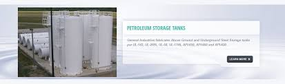 10000 Gallon Above Ground Fuel Tank Chart General Industries Inc