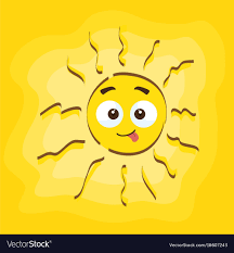 funny cartoon summer sun great png and vector for