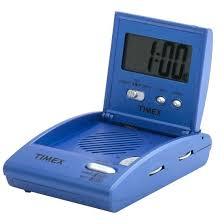 timex alarm clock radio player