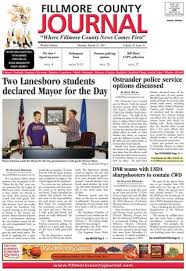 Fillmore County Journal 4014040 By Jason Sethre Issuu Enchanting Dnr Take Anyone For Granted Quotes