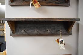 Barn Wood Coat Rack Delectable Amazon Barn Wood Coat Rackshelve Handmade