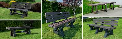 irish recycled s seat benches