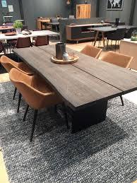 cutting edge furniture. Modern Cutting Edge Wooden Table With Brown Leather Chairs Furniture U