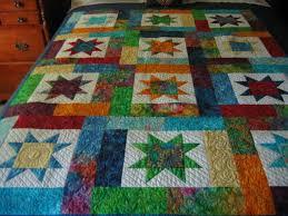 135 best Lucky Stars Quilt images on Pinterest | Crazy quilting ... & My Lucky Stars quilt Adamdwight.com