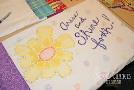 Decorating Pillow Cases