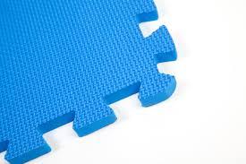 30 x 30 cm small blue interlocking eva soft foam exercise floor mats gym garage office kids play