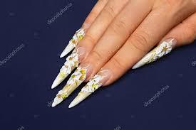 Svatební Nehty Design Stock Fotografie Berezandr 64678075