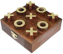 Naughts And Crosses Wooden Game Stunning Wooden Tic Tac Toe Travel Board Game Noughts And Crosses Brain