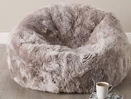 image of fur bean bag chairs s