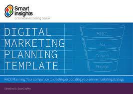 Digital Marketing Plan Template Smart Insights By Dani Hasan