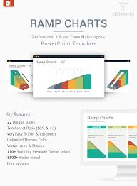Powerpoint Charts Diagrams Ceo Pack Ramp Charts Powerpoint Template Designs Slidesalad