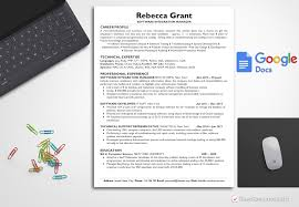 Technical Resume Template Rebecca Grant Bestresumes