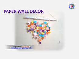 amazing wall decor with paper