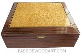 Document Boxes Decorative Handcrafted Wood Box Large Valet Box For Men Or Document Box 13