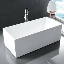 legion furniture acrylic rectangular freestanding bathtub bathtubs cast iron