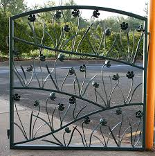 view our garden gates gallery individual flower metal gate
