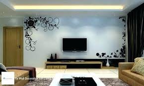 decorating ideas for tv wall house interiors wall decoration for living room home decor ideas wall