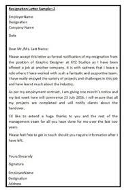 Job Resignation Letter Sample - Loganun Blog | Best Letter ...