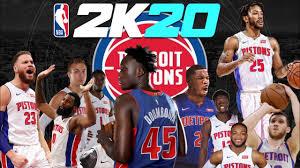 Detroit Pistons rebuild NBA 2k20 - YouTube