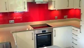 red kitchen glass tile orange accent backsplash red kitchen glass tile orange accent backsplash