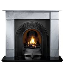 gallery brompton stone fireplace with landsdowne cast iron arch limestone fireplaces fireplace packages fireplaces are us