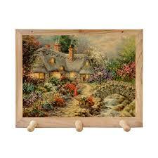 <b>Панно декоративное с деревянными</b> крючками GIFT N HOME ...