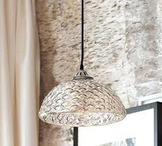 hobnail antique mercury glass pendant cool pendants lights large image 0 cool mercury glass