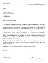 Mckinsey Resume Sample Epic Cover Letter Sample In Cover Letter With