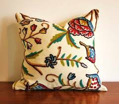 Back To Article  Embroidered Throw Pillows