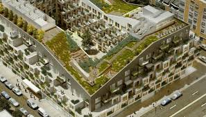 apartment landscape design. Plain Design 10 Montieth Street Is A Residentialcommercial Building With Outdoor  Amenities On Steroids The Design Of The Mixeduse By Architecture Firm ODA  For Apartment Landscape Design