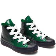 converse converse x jw anderson patent leather high top shoes mdjuia03