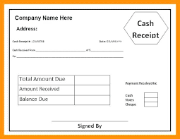 Receipt Format Word Ms Word Invoice Template Doc From New Cash Receipt Format In Rent