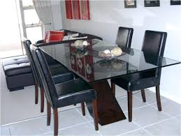 best glass dining tables glass dining table with wood base bases for top tables plan