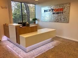 front desk at our corporate headquarters nextgen security exton pa