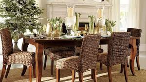 rattan dining room set wicker dining chairs with casters cane table design ideas room of rattan