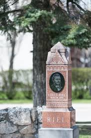 louis riel the canadian encyclopedia louis riel tombstone