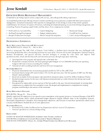 Resume Sample Restaurant Supervisor Restaurant Manager Resume