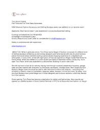 Retail Associate Cover Letter Sales Associate Cover Letter Template Collection Letter Template