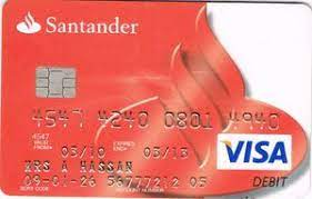 With most santander cards, you'll find that there are additional fees to pay when you use your card overseas. Bank Card Santander Santander United Kingdom Of Great Britain Northern Ireland Col Gb Vi 0015 02